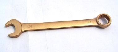 จำหน่าย ประแจแหวนข้างปากตาย ทองเหลือง Non Spark สำหรับเรือ